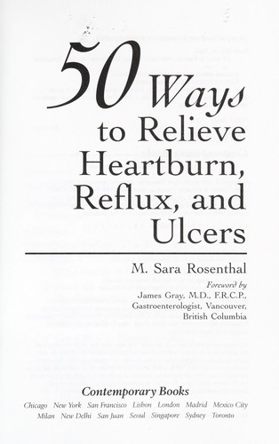 Download 50 ways to relieve heartburn, reflux, and ulcers