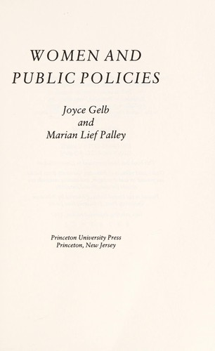Download Women and public policies