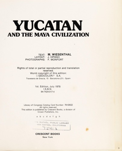 Yucatan and the Maya civilization