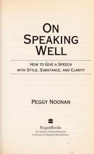 Download On speaking well