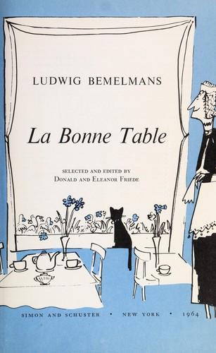 Download La bonne table.