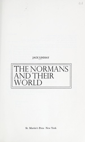 Download The Normans and their world