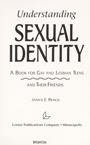 Download Understanding Sexual Identity
