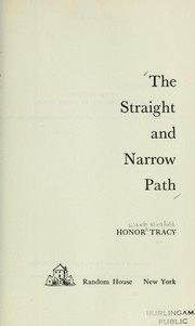 The straight and narrow path