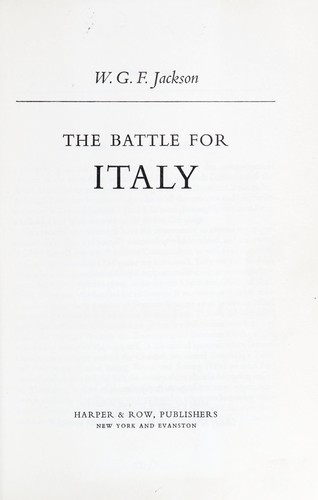 Download The battle for Italy
