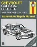 Chevrolet Corsica & Beretta automotive repair manual PDF