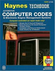 The Haynes computer codes & electronic engine management systems manual by John Harold Haynes