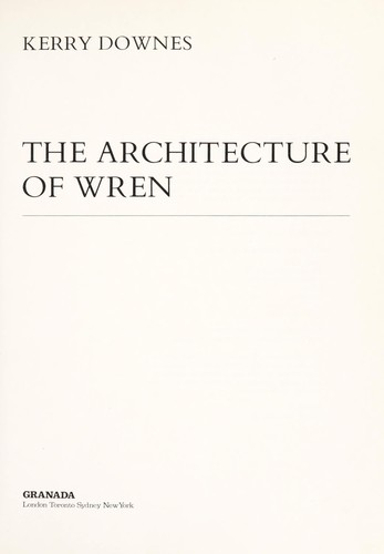 The architecture of Wren