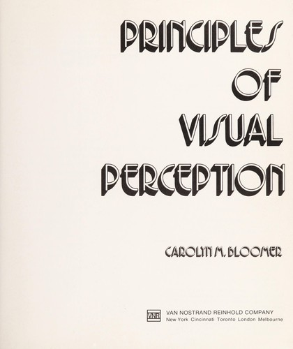 Download Principles of visual perception