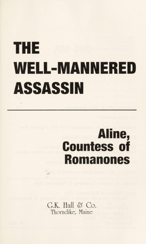 Download The well-mannered assassin