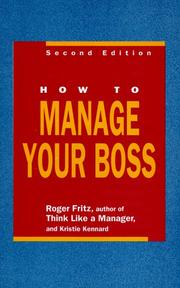 How to manage your boss PDF