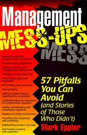 Management Mess-Ups PDF