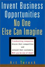 Invent Business Opportunities No One Else Can Imagine PDF