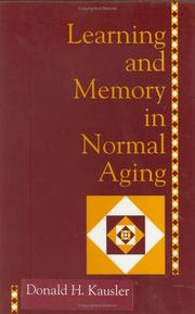 Learning and memory in normal aging PDF