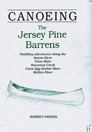 Canoeing the Jersey Pine Barrens by Robert Parnes