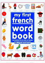 My first French word book = PDF