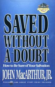 Saved without a doubt by John MacArthur