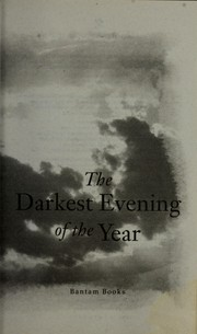 Cover of: The darkest evening of the year | Dean Ray Koontz