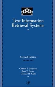 Text information retrieval systems PDF