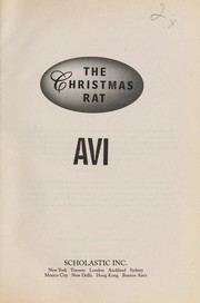Cover of: The Christmas rat | Avi