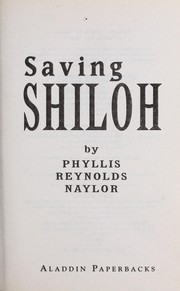 Cover of: Saving Shiloh | Jean Little