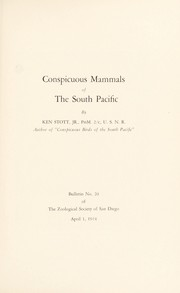 Conspicuous mammals of the South Pacific