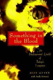 Something in the blood PDF