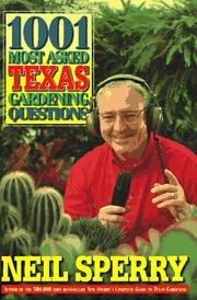 1001 most asked Texas gardening questions PDF