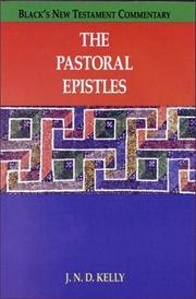 The Pastoral Epistles PDF
