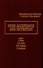 Food Acceptance and Nutrition (Food Science and Technology (Academic Press)) PDF