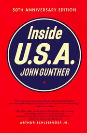 Inside U.S.A by John Gunther