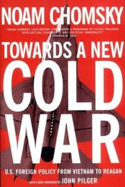 Cover of: Towards a new cold war by Noam Chomsky