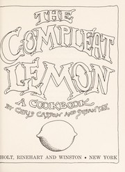 The compleat lemon : a cookbook