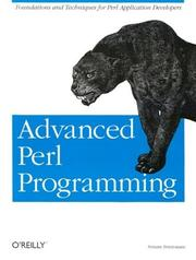Advanced Perl programming by Sriram Srinivasan