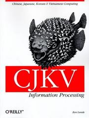 CJKV information processing by Ken Lunde