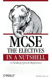 MCSE by Michael G. Moncur
