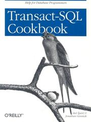 Transact-SQL cookbook by