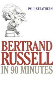 Bertrand Russell in 90 Minutes (Philosophers in 90 Minutes) PDF