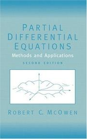 Partial differential equations by Robert C. McOwen