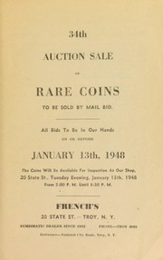 34th auction sale of rare coins and paper money