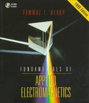 Fundamentals of applied electromagnetics by Fawwaz T. Ulaby