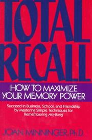 Total Recall by Joan Minninger