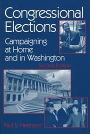 Congressional Elections by Paul S. Herrnson