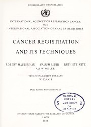 Cancer registration and its techniques