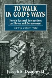 To walk in God's ways by Joseph S. Ozarowski