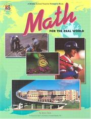 Math for the Real World (Middle School Teacher Resource Book) PDF