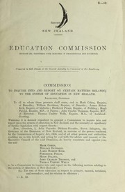 Education Commission (report of)
