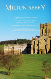 Milton Abbey, Dorset : an illustrated guide