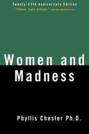 Women &amp; madness by Phyllis Chesler