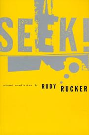 Cover of: Seek! by Rudy v. B. Rucker